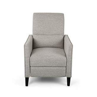 Christopher Knight Home 309297 Alexis Contemporary Fabric Push Back Recliner