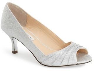 Women's Nina 'Carolyn' Peep Toe Pump $84.95 thestylecure.com