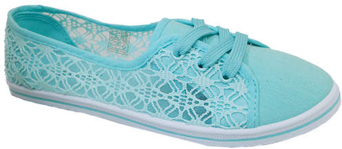 Mint Crochet Lure Sneaker - Women