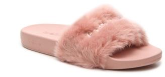 Bebe Furiosa Slide Sandal $50 thestylecure.com