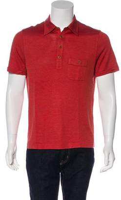 John Varvatos Silk-Blend Polo