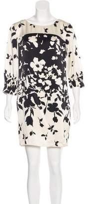 Vince Silk Floral Dress