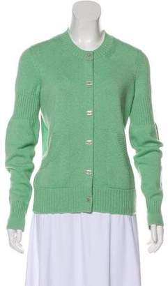 Chanel Cashmere Turn-Lock Cardigan