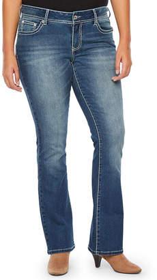 A.N.A Flower Pocket Bootcut Modern Fit Bootcut Jeans