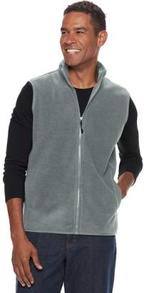 Croft & Barrow Men's Classic-Fit Textured Fleece Vest