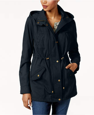 Style&Co. Style & Co Cotton Hooded Utility Jacket