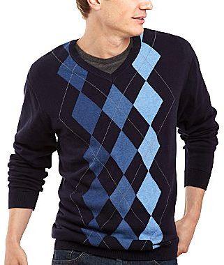 Van Heusen Argyle Sweater