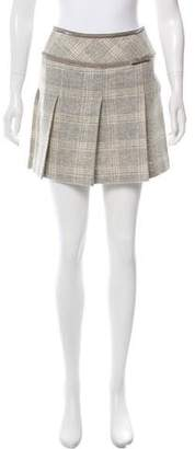 Courreges Pleated Mini Skirt