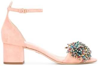 Elie Saab bead embellished sandals