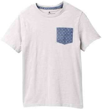 Tailor Vintage Pocket Tee with Chambray Dots Pocket (Big Boys)