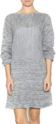 Dc Knits Grey Sweater Dress