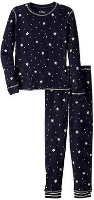 PJ Salvage Kids Dream Mix Star Thermal Two-Piece Jammie Set (Toddler/Little Kid/Big Kid)