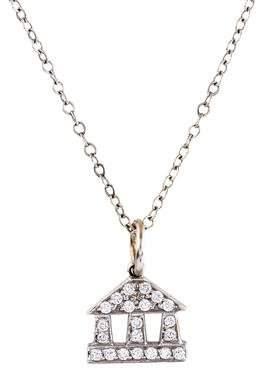 Temple St. Clair 18K Diamond Pendant Necklace