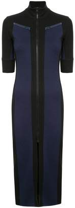 Proenza Schouler PSWL Paneled Zip Mockneck Dress