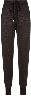 Markus Lupfer Lurex Cotton Knit Sweatpants