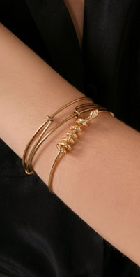 Alex and Ani Snake Bangle Set