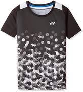 Yonex (ヨネックス) - (ヨネックス)YONEX テニスウェア シャツ 10228J [ジュニア] 10228J 007 ブラック (007) J130