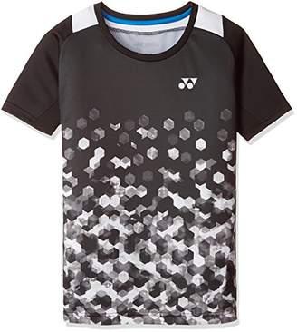 Yonex (ヨネックス) - (ヨネックス) YONEX テニスウェア シャツ 10228J [ジュニア] 10228J 007 ブラック (007) J130