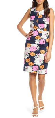 J.Crew Portfolio Petunia Print Dress