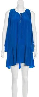 Amanda Uprichard Cold Shoulder Silk Dress w/ Tags