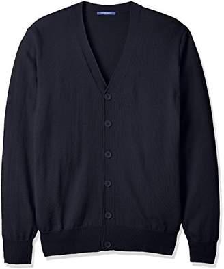 (コノミ) CONOMi(コノミ) スクール カーディガン【CONOMi男女兼用ウールアクリル 制服 カーディガン ゆったり/学校指定制服に合わせやすい無地タイプ/ブレザーの下にも着やすい/ネイビー/グレー/ベージュ/ホワイト ARCPCC-2011 01 ネイビー LL