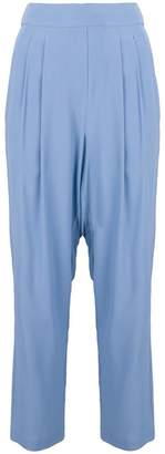 Cavallini Erika loose fit high-waisted trousers