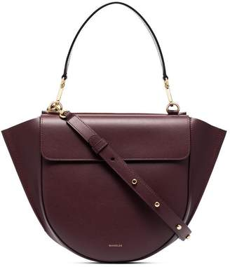 Hortensia Wandler Medium Leather Cross-Body Bag