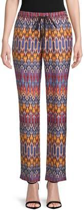 Robert Graham Women's Vita Woven Silk Pants