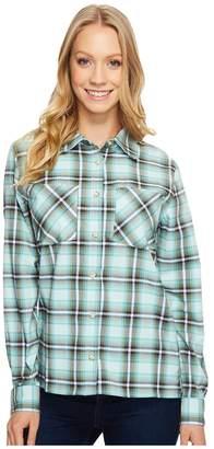 Mountain Hardwear Stretchstone Boyfriend Long Sleeve Shirt Women's Long Sleeve Button Up