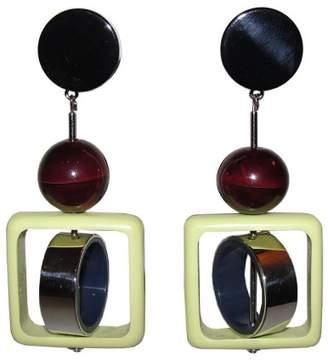 Marni Resin Runway Chandelier Abstract Earrings