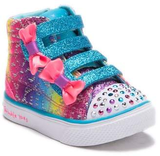 Skechers Twinkle Breeze Light-Up High Top Sneaker (Baby, Toddler, & Little Kid)