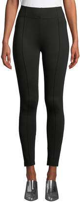 Neiman Marcus High-Rise Waist-Cincher Leggings
