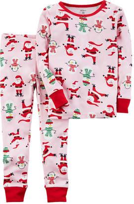 Carter's Christmas 2-pc. Pajama Set Girls
