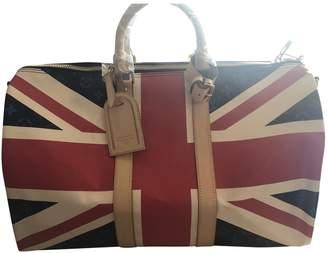Louis Vuitton Keepall cloth 48h bag