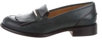 M.Gemi M. Gemi Leather Kiltie Loafers