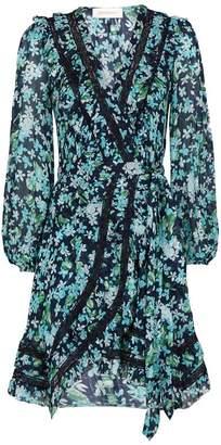 Zimmermann Floral Wrap Dress