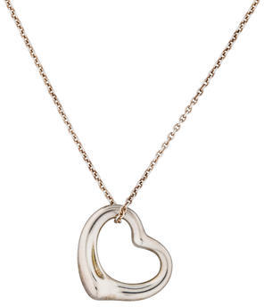 Tiffany & Co. Open Heart Necklace $145 thestylecure.com
