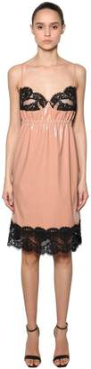 N°21 Faille & Lace Lingerie Dress