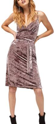 Band of Gypsies Bandofgypsies Haiden Lavender Velvet Dress