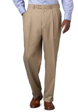 Lauren Ralph Lauren Mid-Weight Pleated Wool Trouser Pants