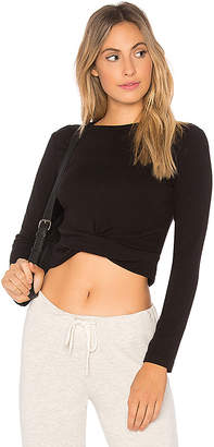 Monrow Twisted Front Top