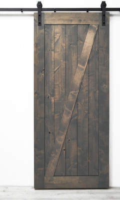 URBAN RESEARCH Dogberry Collections Traditional Z Solid Wood Room Dividers Knotty Alder Slab Interior Barn Door