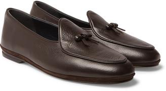 Rubinacci Marphy Full-Grain Leather Tasselled Loafers