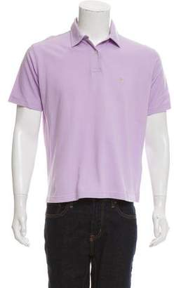 Burberry Short-Sleeve Polo Shirt