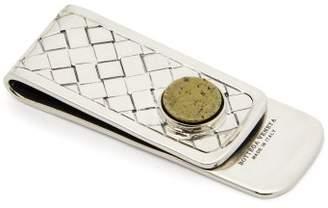 Bottega Veneta Sterling Silver Money Clip - Mens - Silver Multi