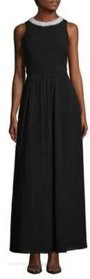Fame & Partners Regina Open Back Floor-Length Dress