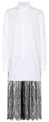 Valentino Cotton-blend dress