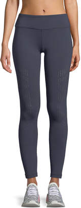Vimmia Drill Full-Length Leggings with Perforations