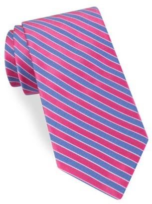 Men's Ted Baker London Mogador Stripe Silk & Cotton Tie $95 thestylecure.com