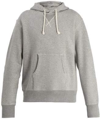 Junya Watanabe Cotton-jersey hooded sweater